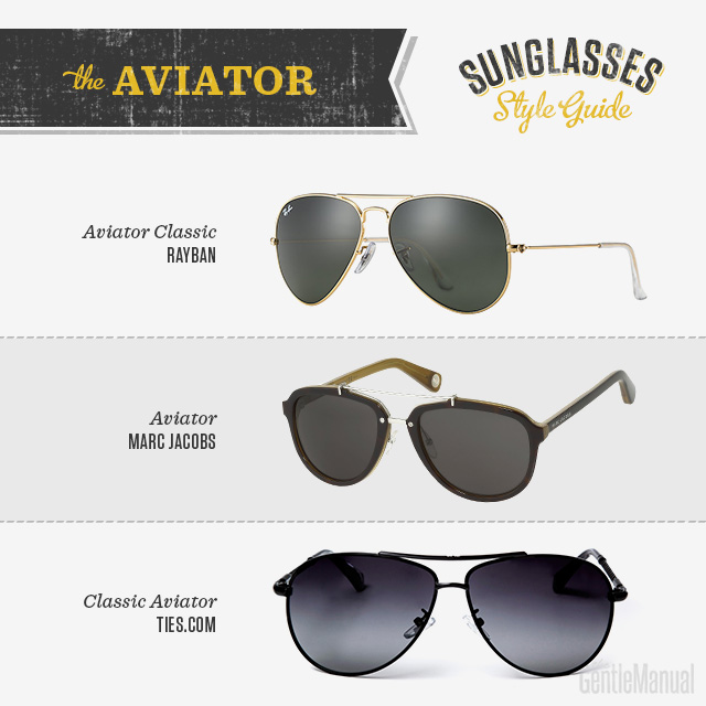Sunglasses Style Guide Gm Avaitor A 01